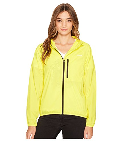 Converse Women's Windbreaker Fresh Yellow Outerwear (Shows Converse)