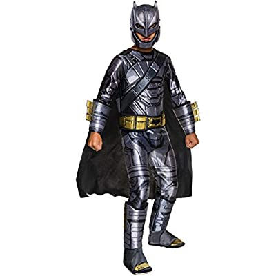 Rubie's Costume Batman v Superman: Dawn of Justice Armored Batman Deluxe Child Costume, Small: Toys & Games
