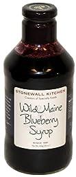 Stonewall Kitchen Wild Maine Blueberry Syrup, 30 oz