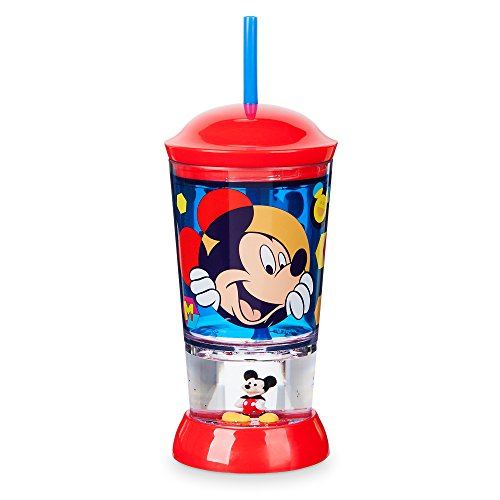 Disney Store Dome Tumbler Snowglobe Straw 2017 (Mickey - Mouse Snowglobe Mickey