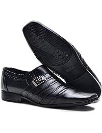 Sapato Social Masculino Monaco Em Couro