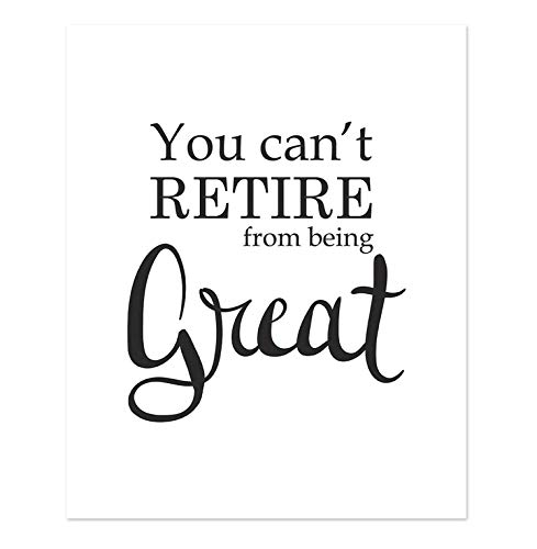 Teacher Retirement Party Ideas - 8x10 Retirement Sign - Art Print