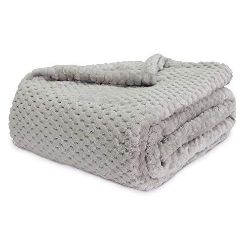 Better Homes Gardens Throw Blanket 50 inch X 70 inch (Silver) from Better Homes and Gardens