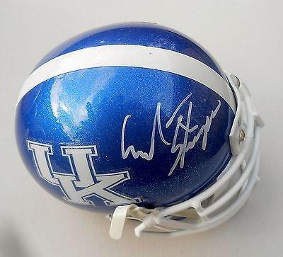 Mark Stoops Signed Kentucky Wildcats Football Mini Helmet w/JSA M96988