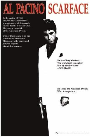 Scarface - Film One-Sheet Poster Stampa, 61x92 CM: Amazon.it: Casa e cucina