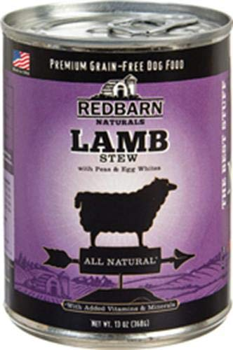 Redbarn Lamb Stew With Peas & Egg Whites- 12X13Oz