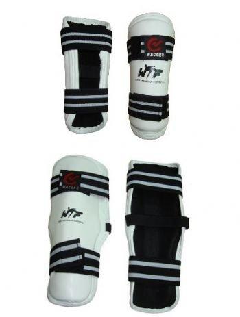 Aprobado por la WTF Competencia Taekwondo Shin Acolchados Wacoku