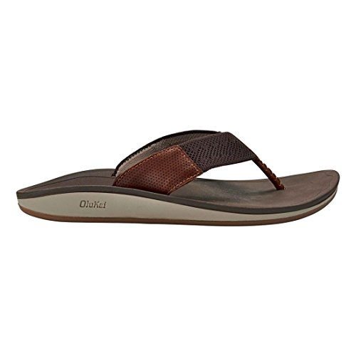 countdown package cheap online OluKai Mens Nohonaulana Thong Sandal Dark Wood clearance online cheap real oAOCKGAxV5