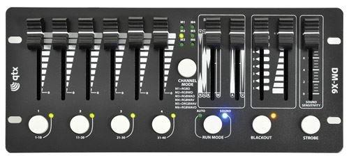 DM-X6 MINI DMX PAR CONTROLLER by QTX