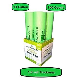 Compostable Trash Bags 100% Biodegradable