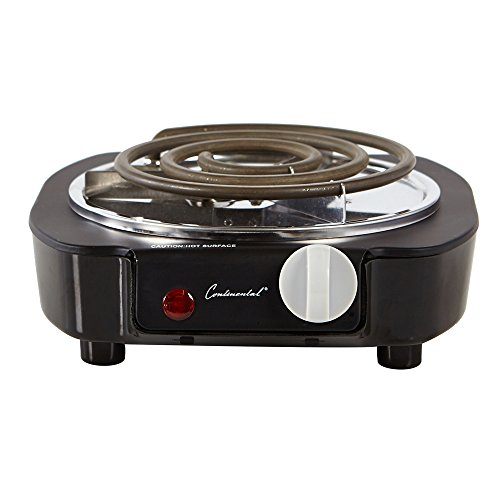 Continental Electric CE23309 1100-Watt Single Burner (Professional Single Burner)