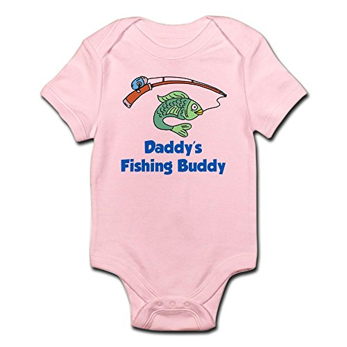 CafePress Daddys Fishing Buddy Body Suit - Cute Infant Bodysuit Baby (Baby Shower Fishing Theme)