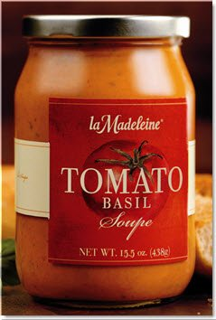 la madeline tomato basil soup - 1