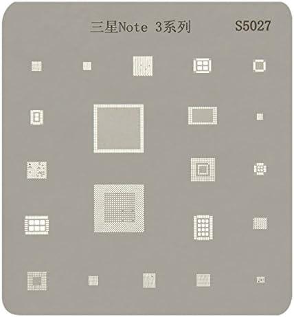 Deluxe Cell Phone Repair Tool Kits Compatible with Samsung Galaxy Note 3 Mobile Phone Rework Repair BGA Reballing Stencils Repair Kits