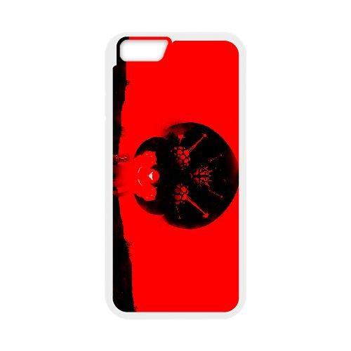 Super Metroid coque iPhone 6 Plus 5.5 Inch cellulaire cas coque de téléphone cas blanche couverture de téléphone portable EEECBCAAN07142