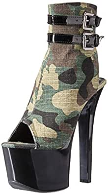 Ellie Shoes Womens 711-CADET 711-cadet Green Size: 8