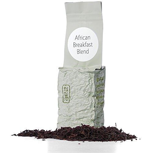 Nigiro African Breakfast (3.5oz)   Kenya, Malawi & Tanzania Black Tea Blend   High Caffeine   Ultra Loose Tea Leaf Selection