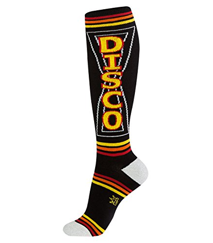 Gumball Poodle Knee High Socks - Disco - O/S (Womens Disco Clothes)