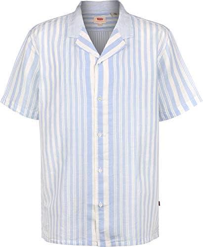 Levis ® Cubano Camisa de Manga Corta Mayhew Skyway: Amazon.es: Ropa y accesorios