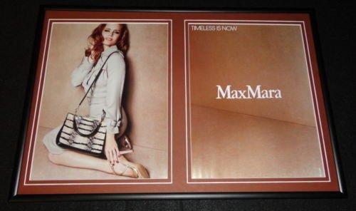 amy-adams-2015-max-mara-12x18-framed-original-advertising-display