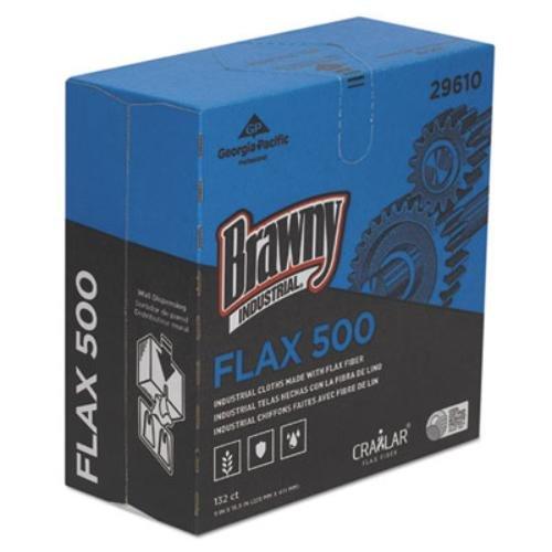 brawny-industrial-29610-flax-500-light-duty-cloths-9-x-16-1-2-white-10-packs-of-132