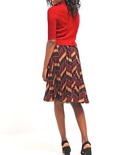 GLAMOROUS Damen T-Shirt print - deep red Gr. S