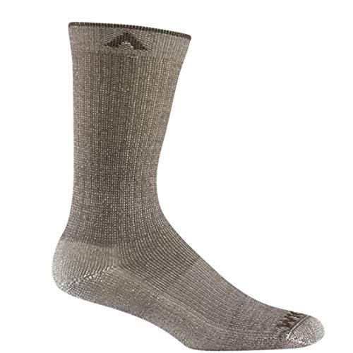 - Wigwam F2409 Men's Merino Comfort Hiker Lite Socks, Taupe - LG