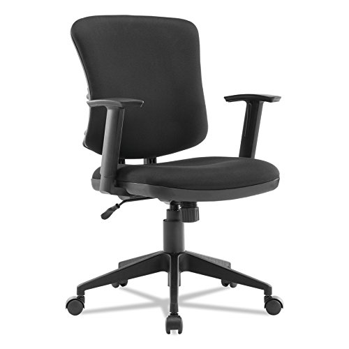 Alera ALETE4810 Everyday Task Office Chair, Black Fabric