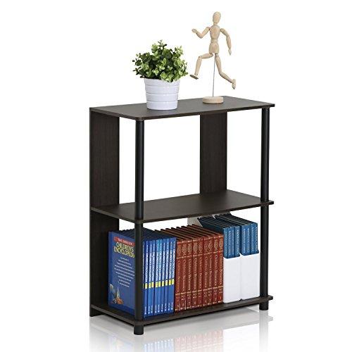 Furinno 15070WNBK Jaya Simple Design Bookcase, Walnut by Furinno (Image #2)