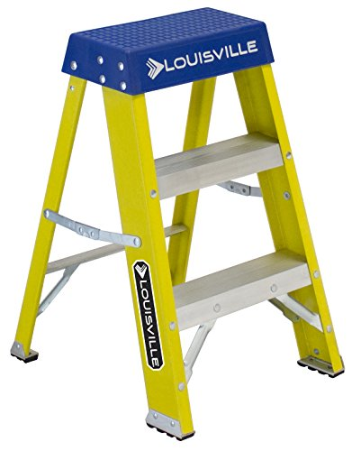 Louisville FS2002 2 StepLadder, 250-Pound Duty Rating Fib...