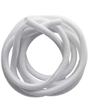 Cable tidy, white color, 5 meters long