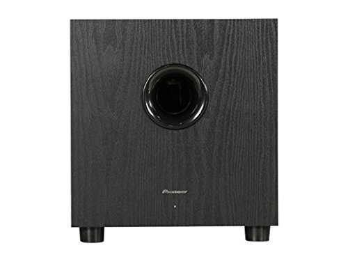 Pioneer SW-8MKS 100W powered subwoofer for home theater (Pioneer Home Receiver Amp)