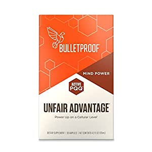Bulletproof Unfair Advantage, Power Up on a Cellular Level (4.2 Fluid Ounces)