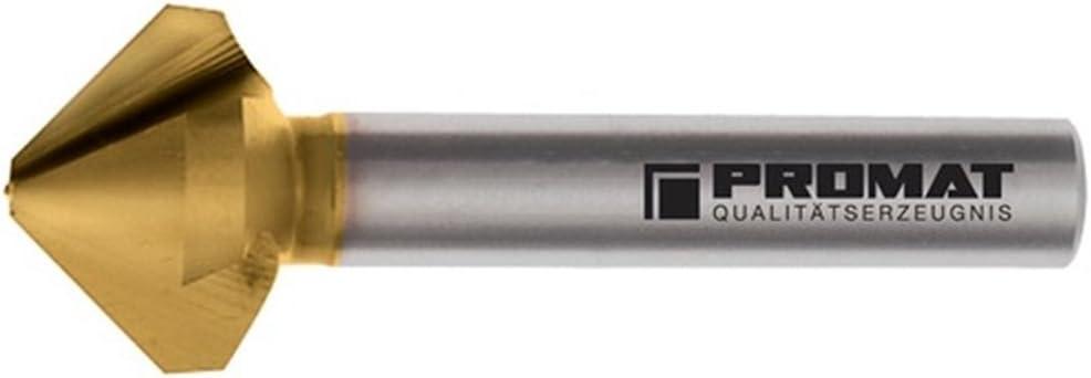 Kegelsenker DIN 335C 90Grad D.16,5mm HSS TiN Z.3 PROMAT