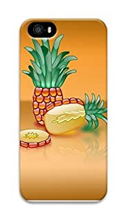 iPhone 5 5S Case Crystal Pineapple 3D Custom iPhone 5 5S Case Cover