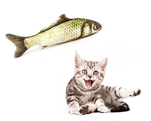 Cosmic Catnip Pillow (SAVING NOW Grass Carp Catnip Toy Cat Fish Toy Cat Supplies Catnip Kicker Toys 7.8in)
