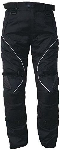 Motorradhose, Textilhose WCT-703 schwarz, Größe S