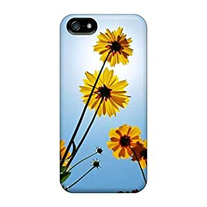 Iphone 5/5s YHZeNDO3566ccbuU Daisy Tpu Silicone Gel Case Cover. Fits Iphone 5/5s