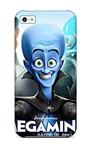 Hot Tpu Cover Case For Iphone/ 5c Case Cover Skin - Megamind 2010 Movie