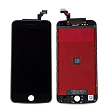 """Rabbitstorm® LCD display Touch Screen Digitizer Assembly for iPhone 6 plus (5.5"""") with free tools - Black"""