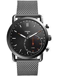 Men's Commuter Stainless Steel Mesh Hybrid Smartwatch, Color: Grey (Model: FTW1161)