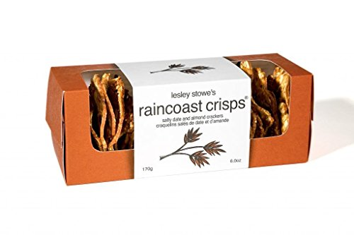 Raincoast Crisps, Salty Date & Almond Crackers, 6 Oz, 6 Oz by Lesley Stowe