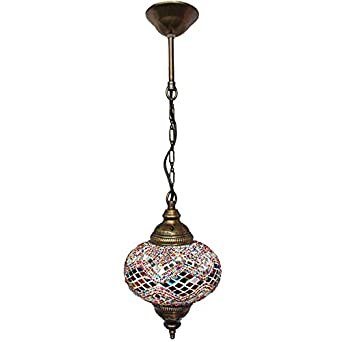 Ceiling Pendant Fixtures, Mosaic Lamps, Turkish Lamps