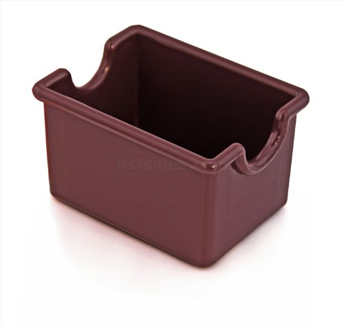 - New Star Foodservice 28454 Plastic Sugar Packet Holder, Brown, Set of 12