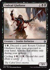 Undead Gladiator - Masters 25 (Gladiator Card)