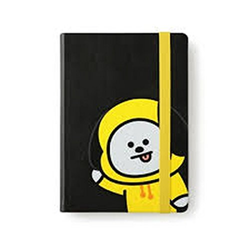 [BT21] The Note Semi-Hardcover Synthetic Leather Note/CHIMMY 224 Sheets