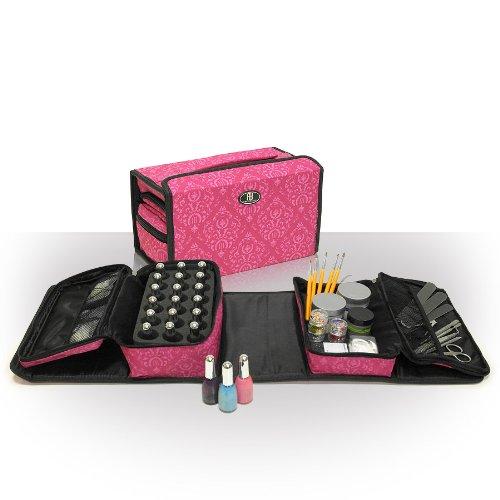 Roo Beauty - Ensemble de Rangement 2 Pièces pour Kit de Manucure Professionnel - Imperial Pink Roo Beauty Limited