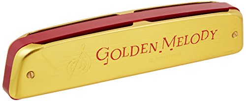 Hohner 2416 Golden Melody Tremolo Harmonica, Key of C