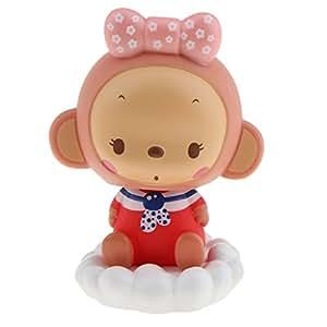 sharplace Creative Bobblehead muñeca bailando mono para casa escritorio decoración del coche regalos # 2