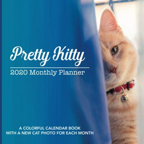 Pretty Kitty: 2020 Full Color Monthly Planner Calendar with a Different Cat Each Month - 8.5